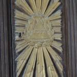 Détail de l'autel dédié à Sainte-Onuphre
