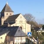 Vu de l'église