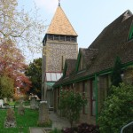 Eglise et salle paroissiale de Swanmore